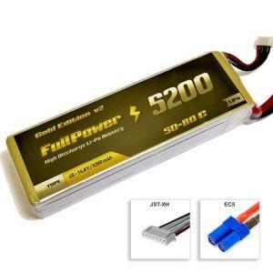 FullPower Batteria Lipo 4S 5200 mAh 50C Gold V2 - EC5