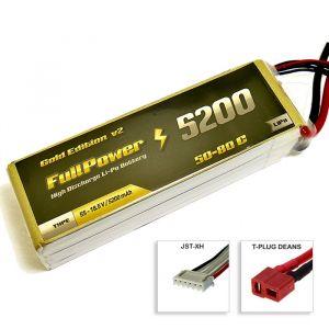 FullPower Batteria Lipo 5S 5200 mAh 50C Gold V2 - DEANS