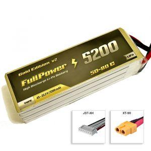 FullPower Batteria Lipo 6S 5200 mAh 50C Gold V2 - XT90