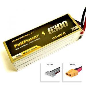 FullPower Batteria Lipo 6S 6300 mAh 50C Gold V2 - XT90