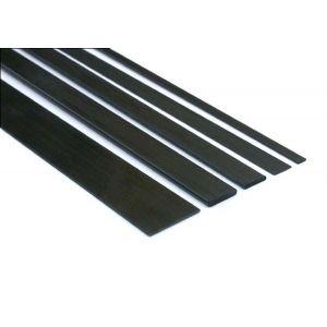 aXes Listello in carbonio pieno 0,5x3x1000 mm