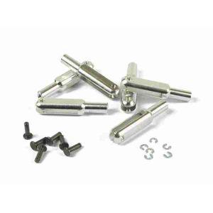 MP JET Forcella alluminio 23mm M2,5 - 2 pz