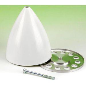TopmodelCZ Ogiva fibra di vetro/alluminio 100 mm - vite centrale