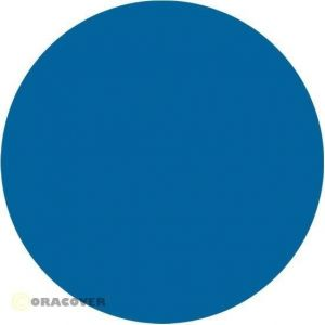 Oracover Oratrim blu fluorescente 051 9,5 cm x 2 m