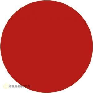 Oracover AIR INDOOR trasparente rosso, 2 mt.