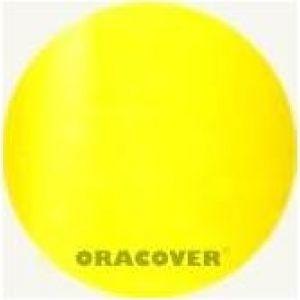 Oracover AIR INDOOR trasparente giallo, 2 mt.
