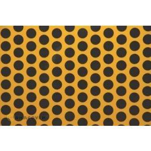 Oracover OraFUN1 gialloCUB/nero pois 16mm, 2 mt.