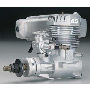 OS engines 75 AX 12,3 cc c/silenziat. Motore a scoppio 2T glow per aerei