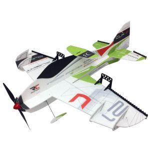 RC Factory Clik 21 Superlite VERDE / 840 mm Aeromodello acrobatico
