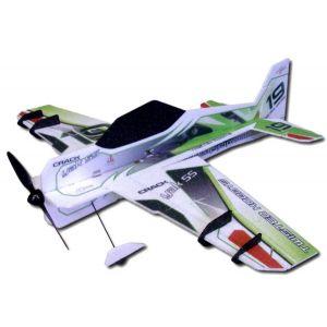 RC Factory Crack Yak 55 Superlite (verde) / 800mm Aeromodello acrobatico