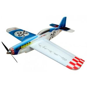 RC Factory Nemesis (blu) / 780 mm Aeromodello acrobatico
