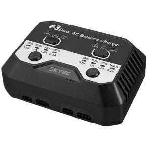 SkyRC e3 DUO 220V 2x20W 2-3S Caricabatterie