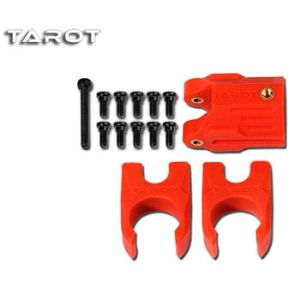 Tarot Blocca tubi FY650 + FY680 rosso