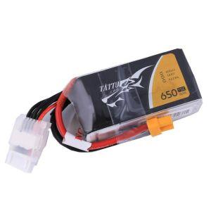 Tattu by Gens ACE Batteria Lipo 4S 650mAh 75C - XT30