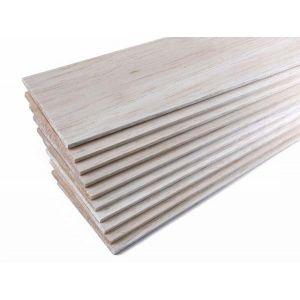 jWood Tavola balsa 4,0x100x1000 mm (1 pz)